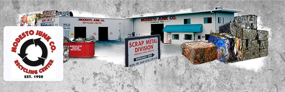 Modesto Junk Company Scrap Metals and Recycling Center - Our Location