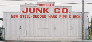 Modesto Junk Company, original building