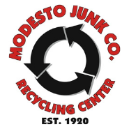 Modesto Junk Co, Inc. Scrap Metals & Recycle Center • Est. 1920 Logo